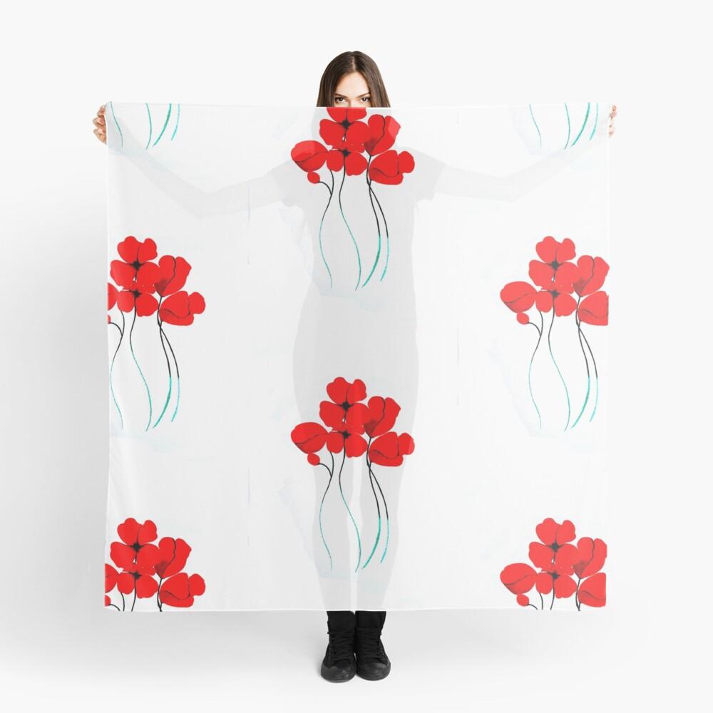 Poppies Pañuelo