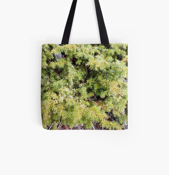 Juniper bush All Over Print Tote Bag