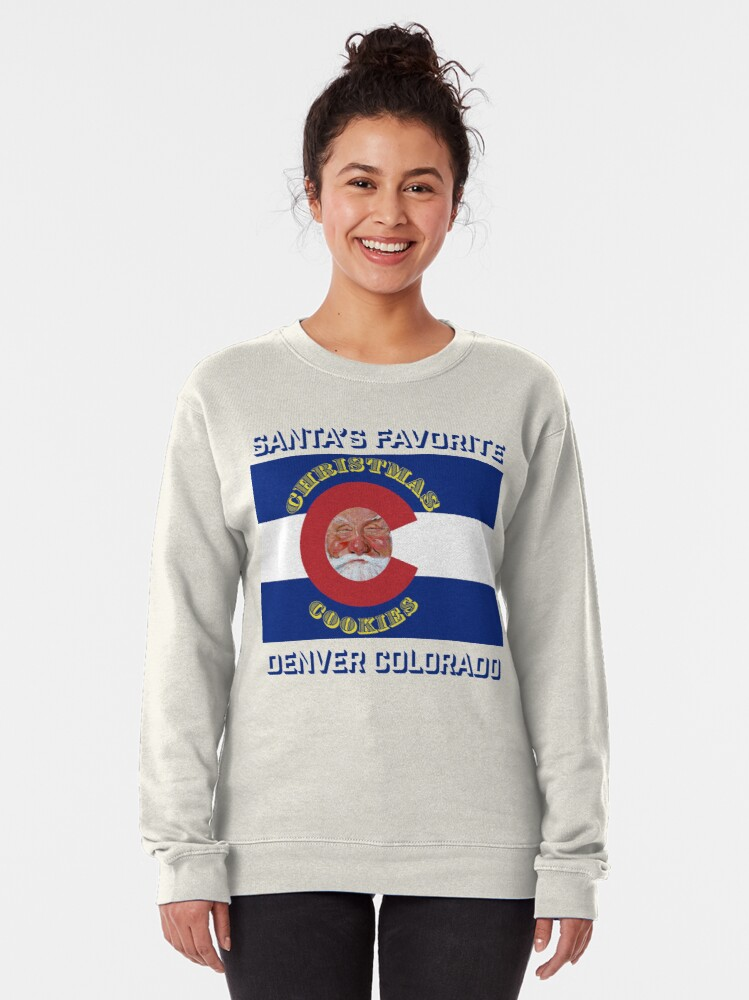 Alternate view of Santa's Favorite Christmas Cookies Pullover Sweatshirt