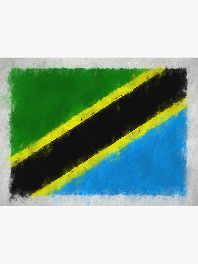Tanzania Flag Reworked No. 66, Series 4 by 8th-and-f