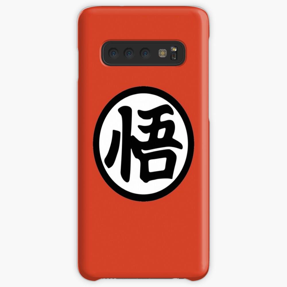 Dragon Ball Z Gokus Sagesse Kanji Portefeuille Orange