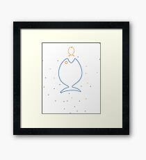 Big fish Little Fish Framed Print
