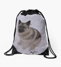 Prettier Than Snow Drawstring Bag