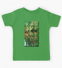 Lonely flower guarding the stream   landscape photography Kids Clothes