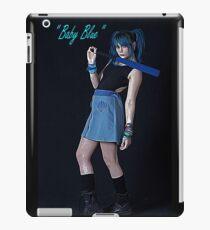 Baby blue iPad Case/Skin