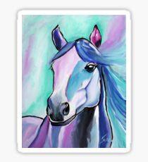 Dreamcatcher Horse Art by Valentina Miletic Sticker