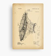 Old blueprint drawing wall art redbubble 1908 patent air ship metal print malvernweather Images