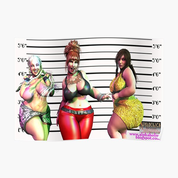 The Usual BBW Suspects Poster