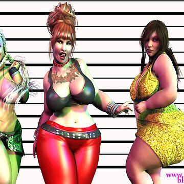 The Usual BBW Suspects by alphaartstudios