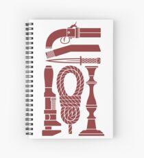 Kill Mr. Body - Brown Spiral Notebook