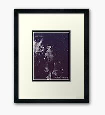 See you, Space cowboy Framed Print
