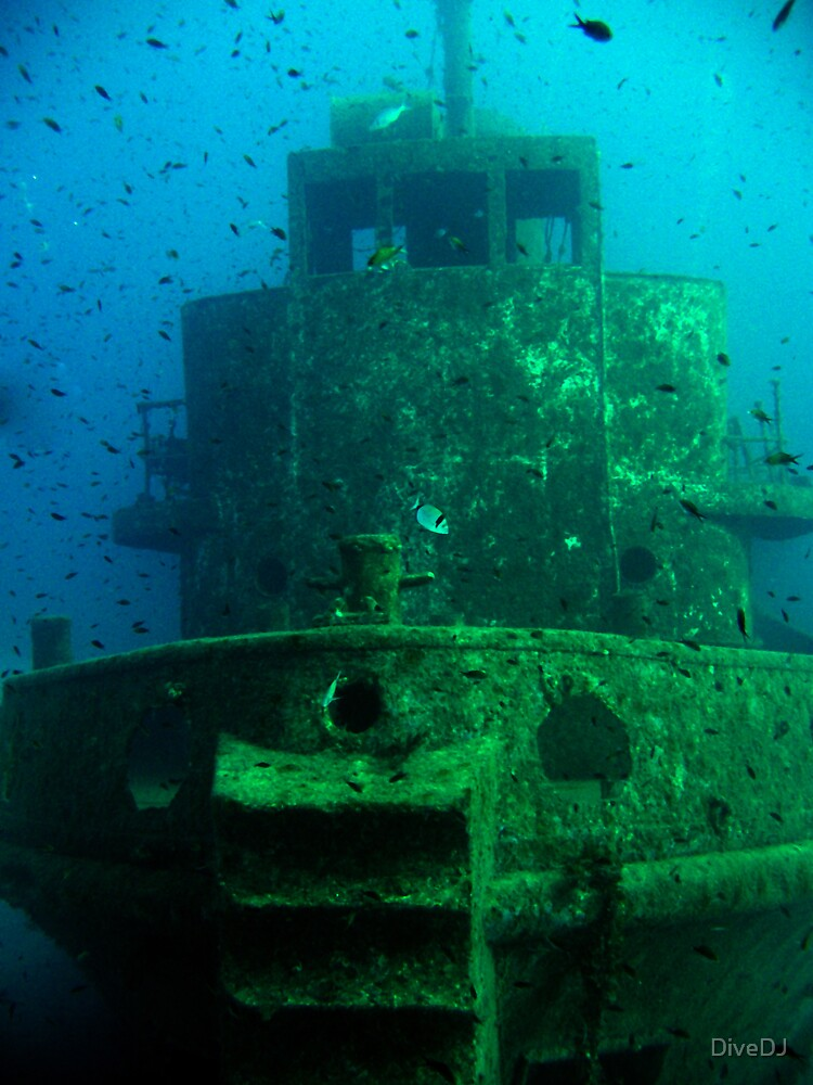 Old Tug Rozi by DiveDJ