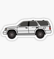 Toyota 4runner Third generation (N180; 1995–2002) Sticker