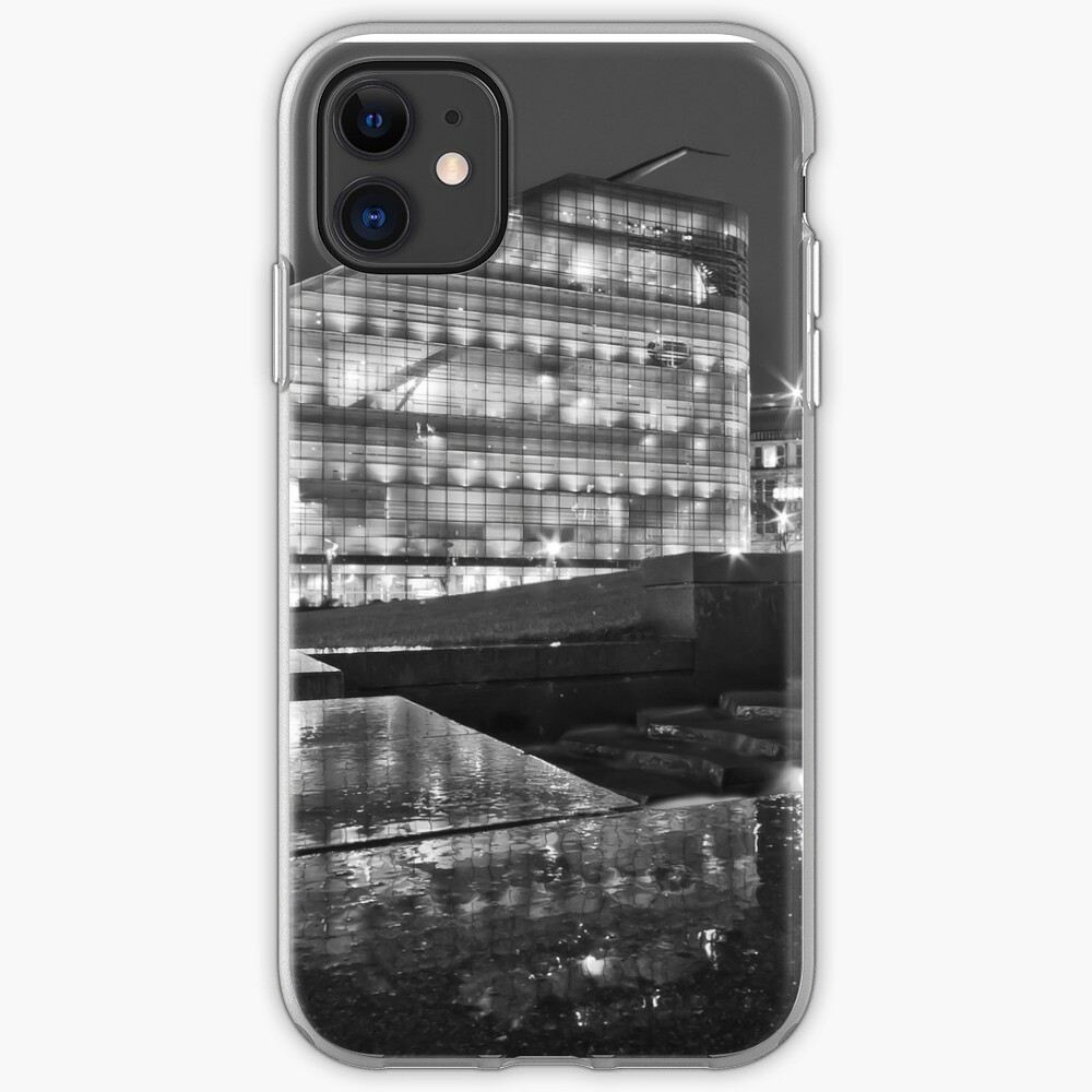 Rainy night in Manchester iPhone Case & Cover