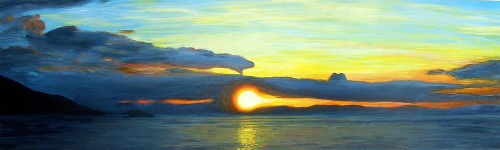 oz sunset by dave reynolds