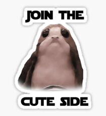Join the Cute side Sticker