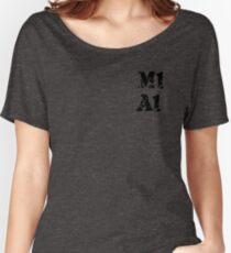 M1A1 GORILLAZ THEMED TEE  Women's Relaxed Fit T-Shirt