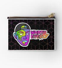 Whatever Paint Face by Josh Schultz Studio Pouch