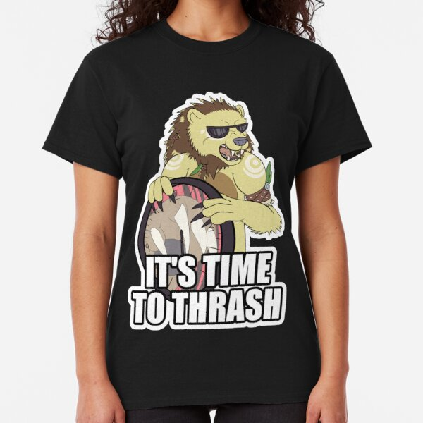 IT'S TIME TO THRASH - Gold [Redbubble exclusive] Classic T-Shirt