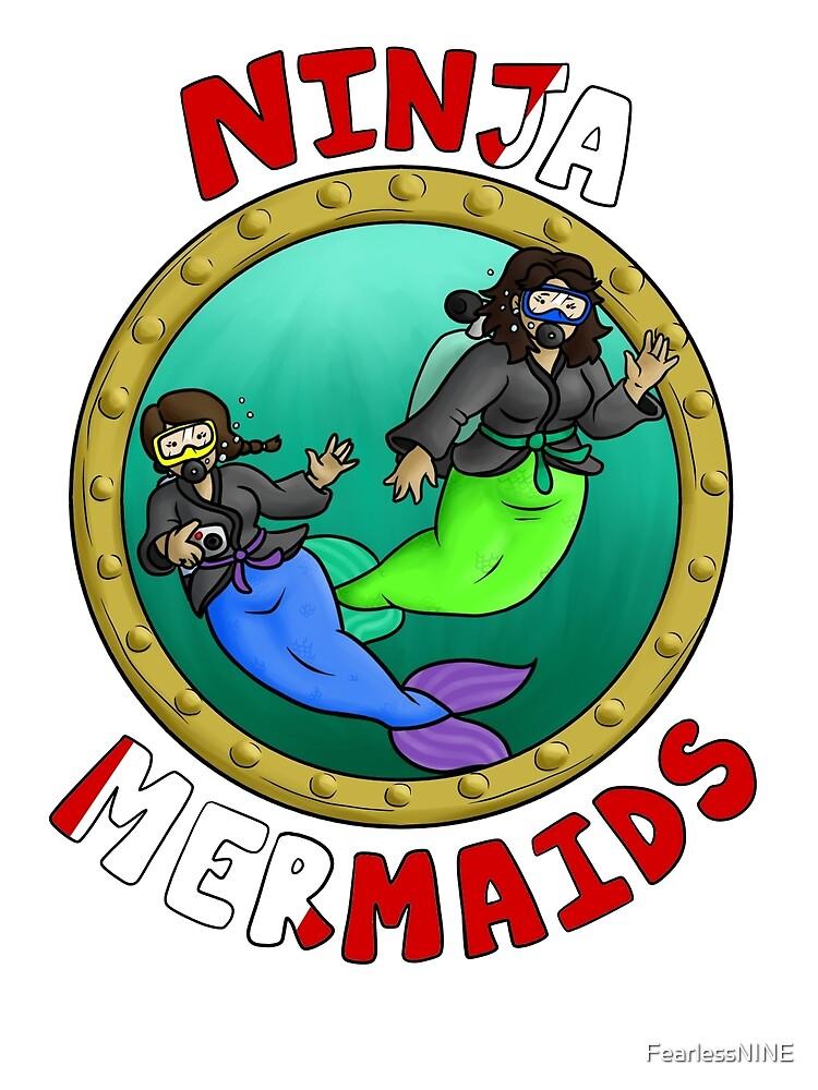 The Ninja Mermaids by FearlessNINE