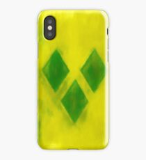 Saint Vincent And Grenadines Flag Reworked No. 1, Series 1 iPhone Case/Skin