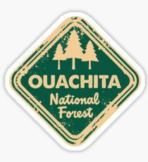 Ouachita National Forest Sticker