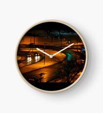 Night Traffic Clock
