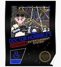 NINTENDO: NES DOCTOR HORRIBLE  Poster