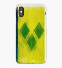 Saint Vincent And Grenadines Flag Reworked No. 2, Series 2 iPhone Case/Skin