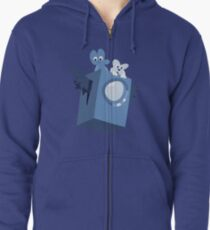 Cave Story x BFB Zipped Hoodie