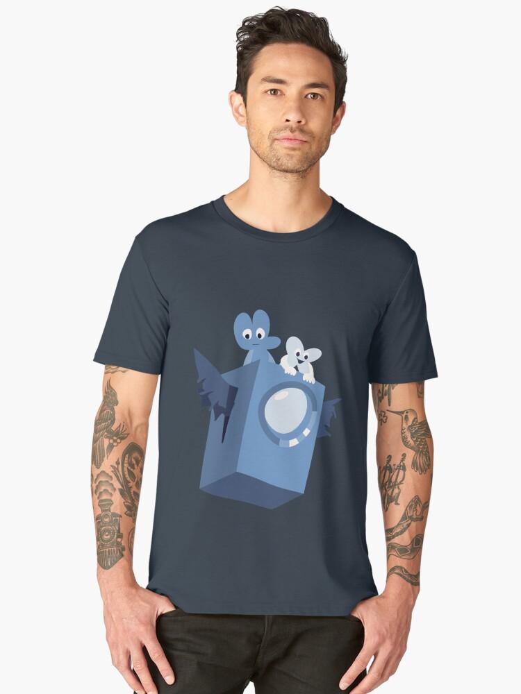 Cave Story x BFB Men's Premium T-Shirt Front