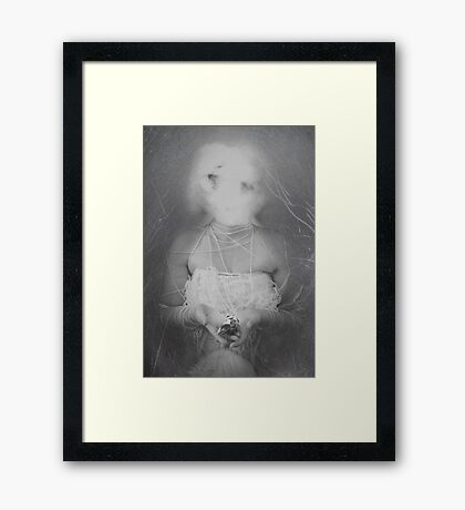 The connection  Framed Print