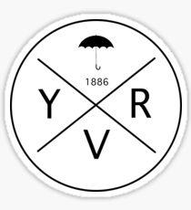 Vancouver YVR Sticker