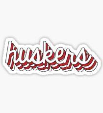 University of Nebraska - Style 7 Sticker