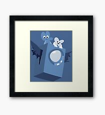 Cave Story x BFB Framed Print
