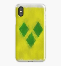 Saint Vincent And Grenadines Flag Reworked No. 66, Series 3 iPhone Case/Skin