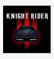Knight Rider - American Series Photographic Print