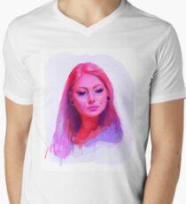 Vanity Pink Men's V-Neck T-Shirt