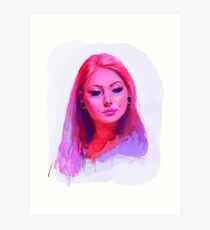 Vanity Pink Art Print