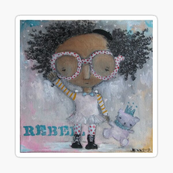 Rebel, #100 Sticker