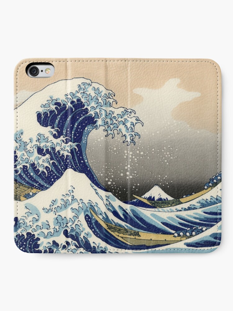 Japanese Ocean Wave iPhone 6s 6 Clear