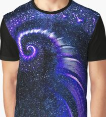 """""""Universal""""   Spiral Galaxy Fractal Art Graphic T-Shirt"""