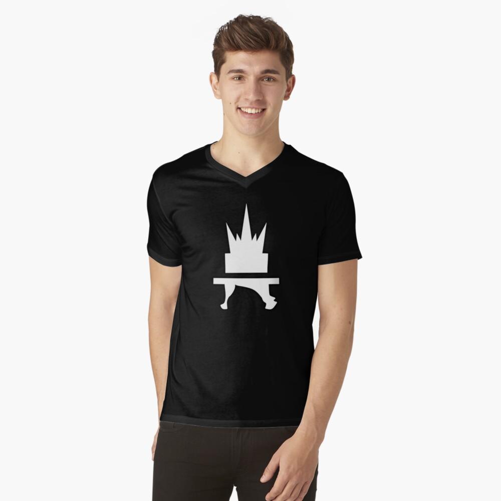 Crazyblox Logo V-Neck T-Shirt