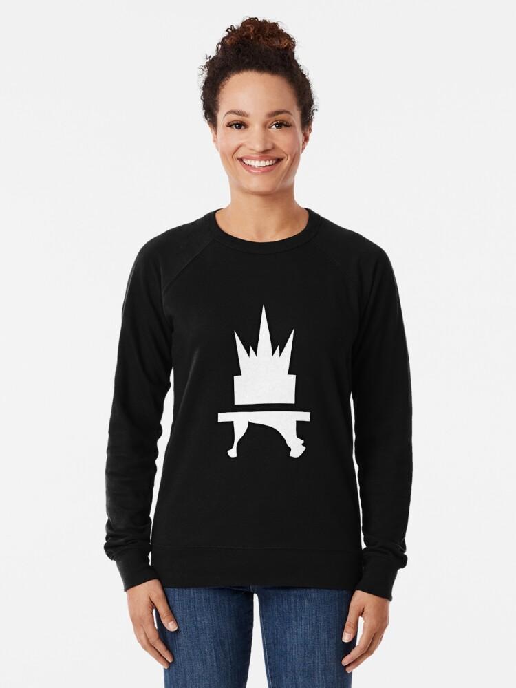 Alternate view of Crazyblox Logo Lightweight Sweatshirt