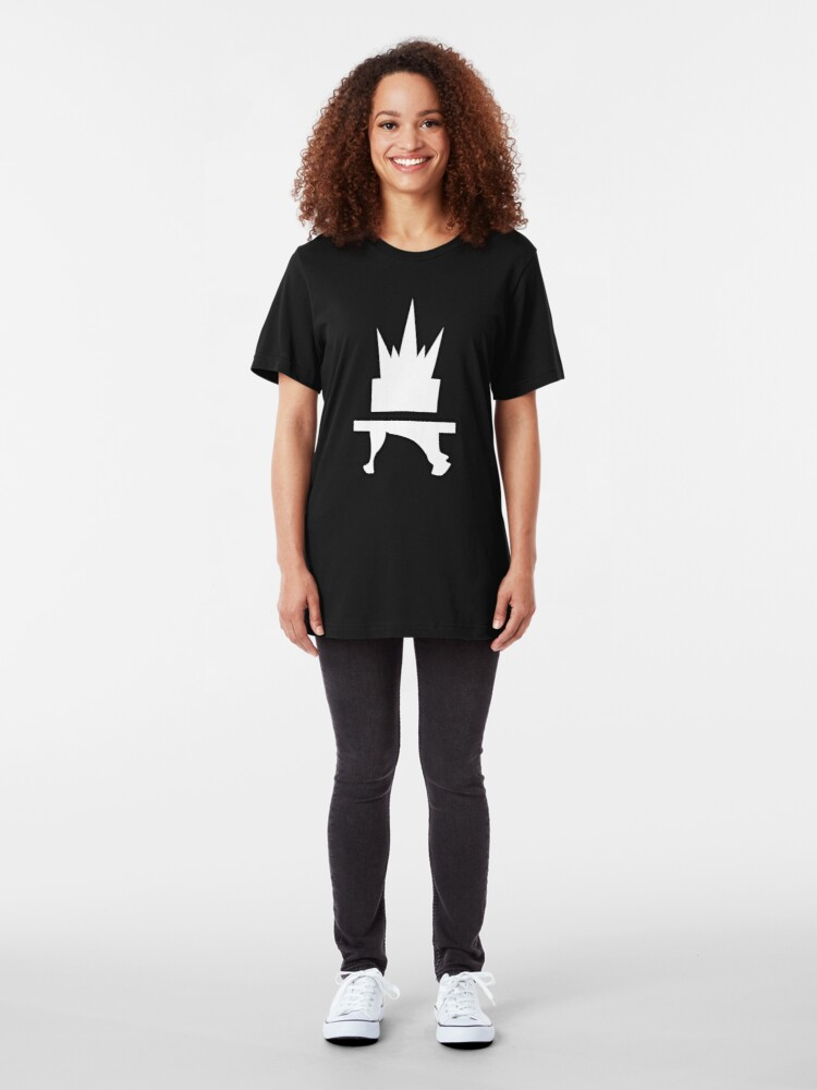 Alternate view of Crazyblox Logo Slim Fit T-Shirt