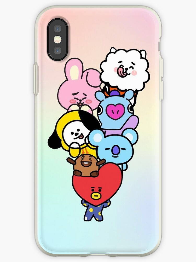 sale retailer 39feb 427e8 'BT21' iPhone Case by Nessy Loves Kpop