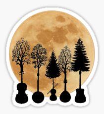 Moonlight Symphony  Sticker