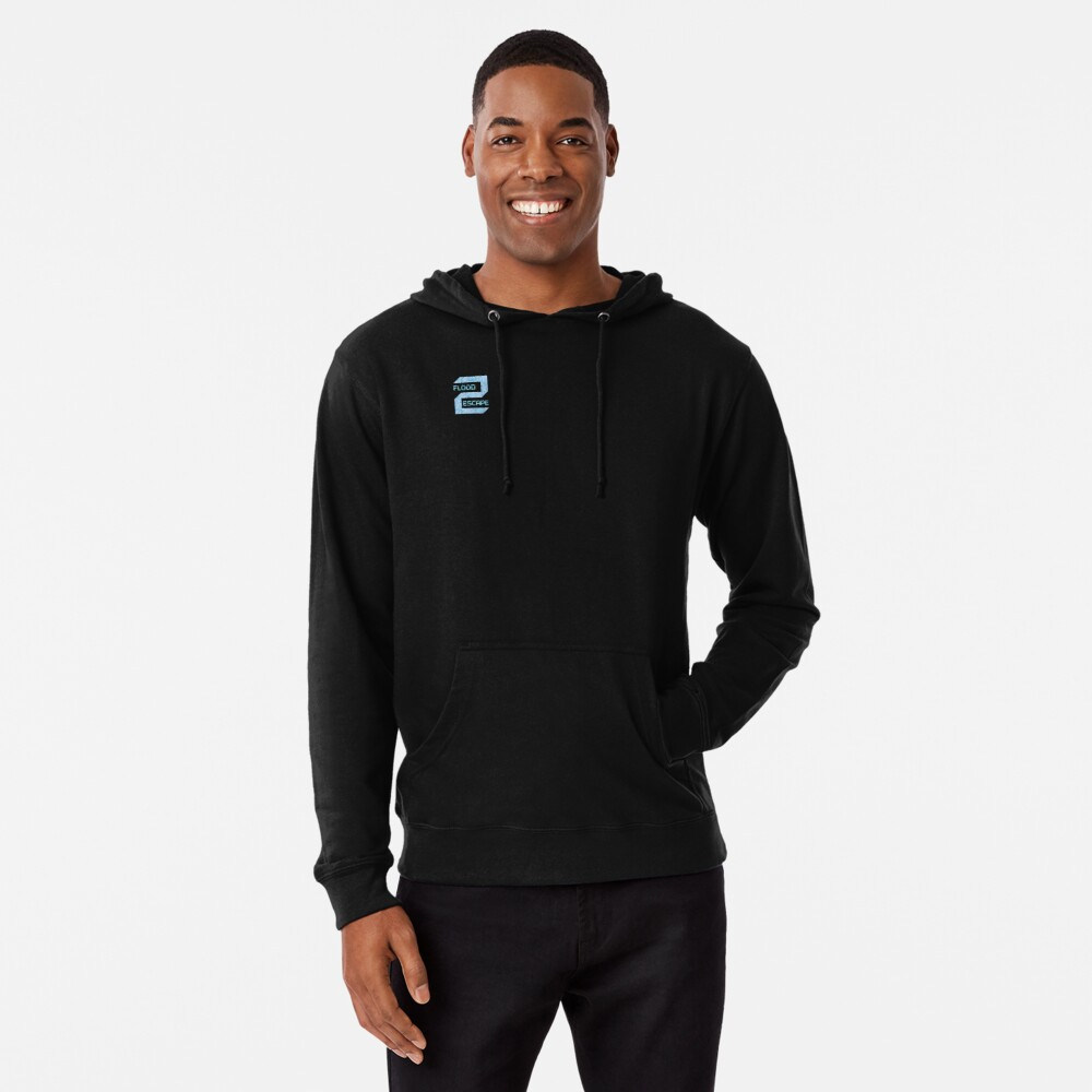 Flood Escape 2 Icon Lightweight Hoodie By Crazyblox Redbubble