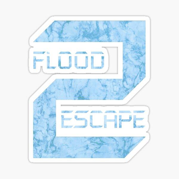 Fgteev Roblox Water Park Roblox Escape Games Stickers Redbubble