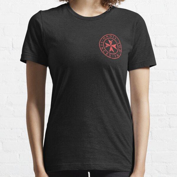 In Hoc Signo Vinces   Knights Templar Maltese Cross Essential T-Shirt